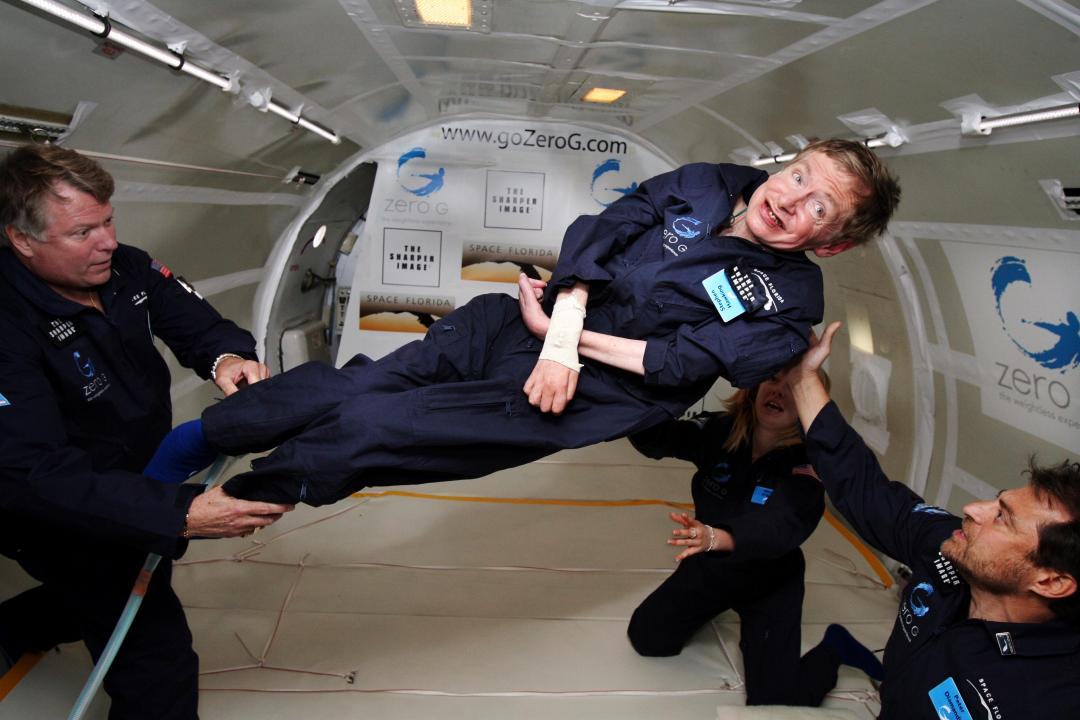 Physicist_Stephen_Hawking_in_Zero_Gravity_NASA_Wikimedia